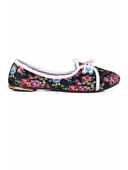 Обувки Олга черно