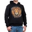 Мъжки суитчър с лъв