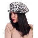 Дамски леопардов каскет