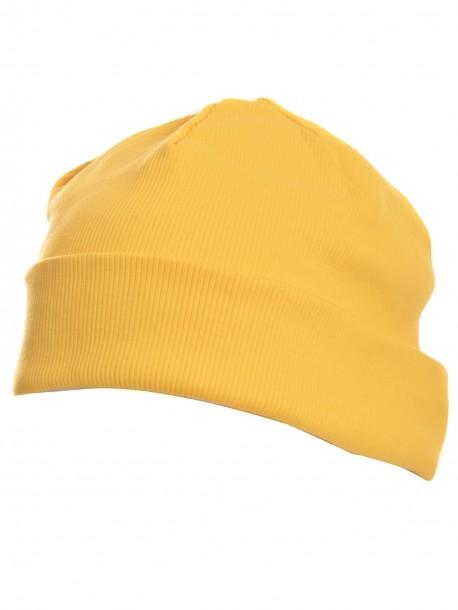 Шапка в жълто