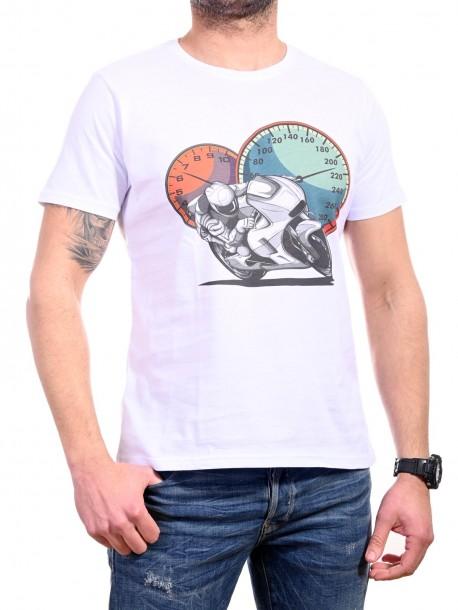 Тениска с мотор