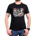 Черна рокерска тениска