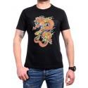 Мъжка тениска с дракон