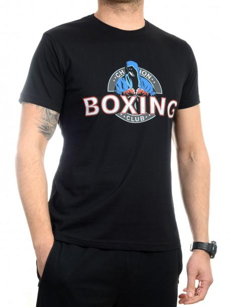 Черна тениска Boxing