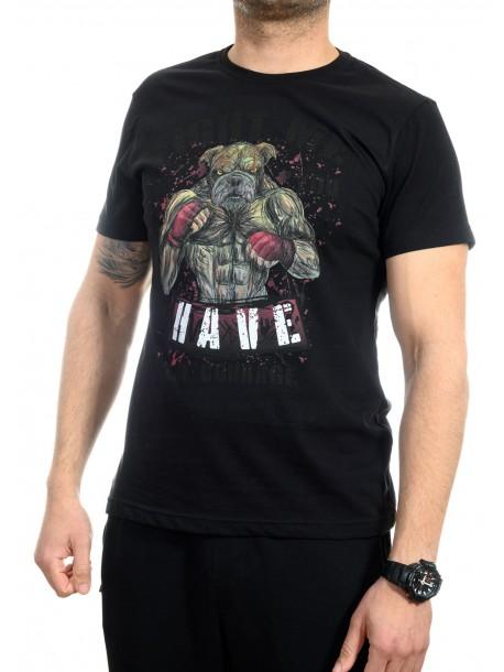 Мъжка тениска Fight