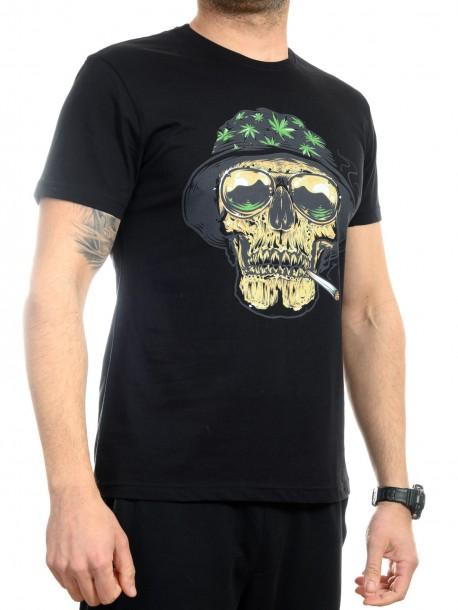 Мъжка тениска с канабис