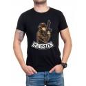 Тениска в черно Gangster