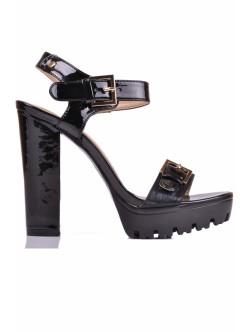 Обувки Женика черно