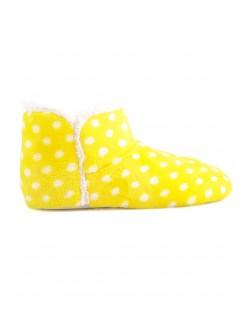 Домашни пантофи Беки жълто