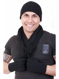 Шал, шапка и ръкавици Дерик