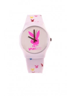 Часовник Playboy уайт