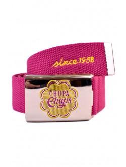 Розов текстилен колан Chupa Chups