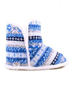 Домашни пантофи Цани синьо