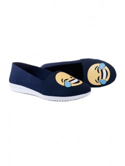 Тъмно сини ниски обувки Ефи