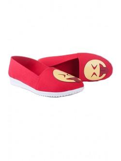 Обувки в червен цвят Ефи