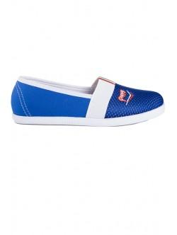 Сини обувки без връзки