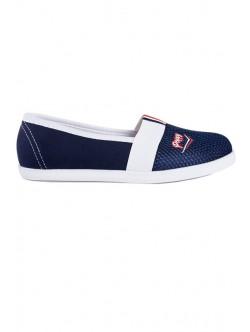 Тъмно сини обувки без връзки