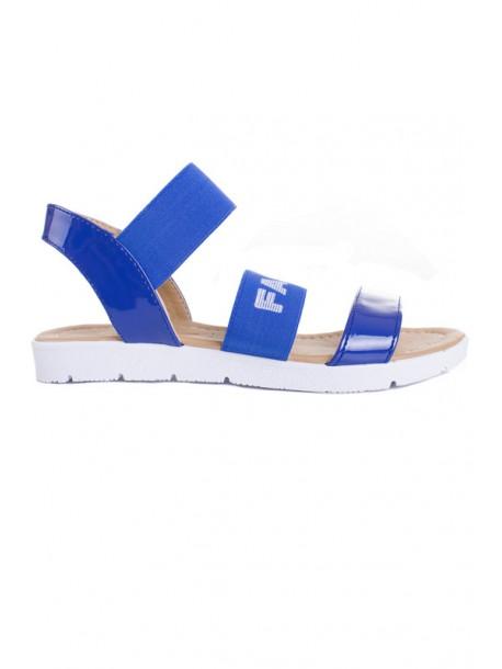 Сандали Fashion синьо V01458