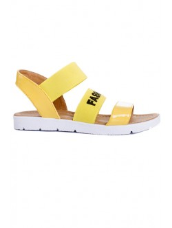 Сандали Fashion жълто