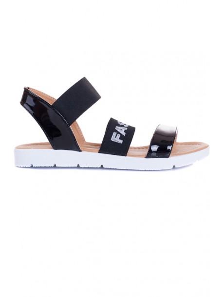 Черни сандали Fashion V01478