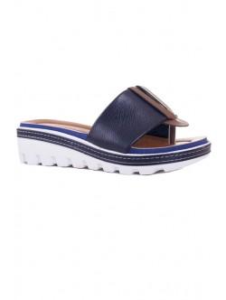 Дамски чехли Клариса синьо