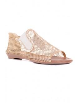 Златисти сандали Катя