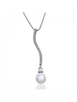 Колие- висулка с перла
