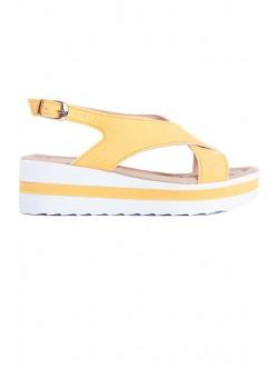 Жълти сандали Ира
