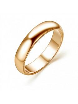Златист пръстен от медицинска стомана