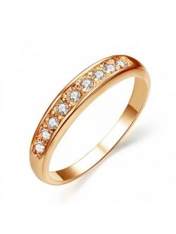 Позлатен пръстен от медицинска стомана