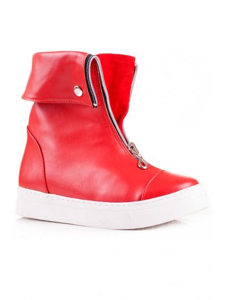 Червени ботуши Алина