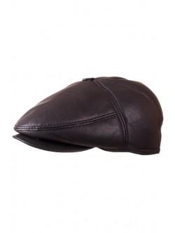 Кафяв мъжки каскет