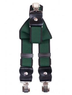 Елегантни мъжки тиранти - зелени