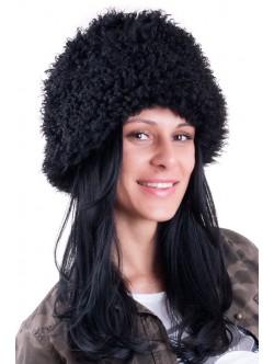 Шапка от лама - къс косъм