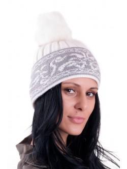 Бяла шапка ангора