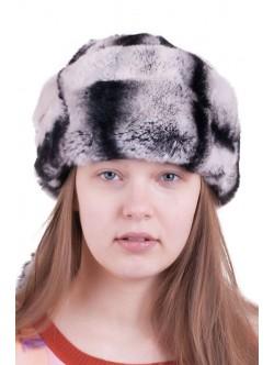 Дамска шапка от чинчила