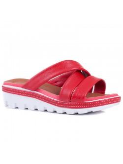 Червени чехли Флорида