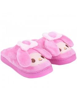 Домашни пантофи - Розов заек