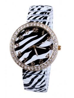 Дамски часовник гривна - Зебра