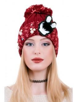 Червена шапка Rabbit