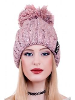 Дамска шапка Love