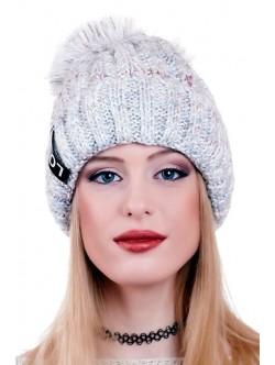 Синя шапка Love