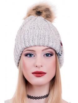 Бежова шапка Wear