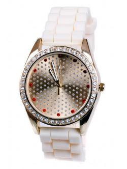 Силиконов часовник с камъни