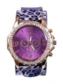 Лилав дамски часовник