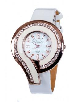 Бял дамски часовник Cadier