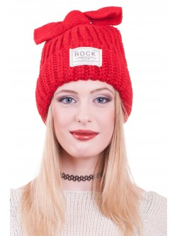Червена шапка Rock