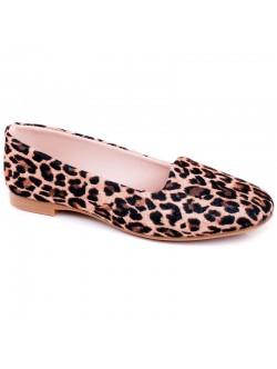 Леопардови ниски обувки