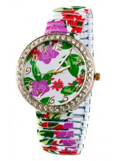 Цветна гривна часовник