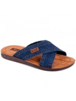 Мъжки дънкови чехли